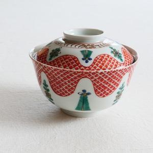 【30930】伊万里 蓋付き 飯碗 江戸時代/ Rice Bowl / Edo Era
