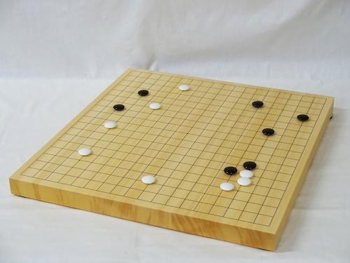 碁盤 ヒバ 1寸 接合卓上盤