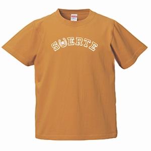 SUERTE CAMEL 幸運 スペイン語 キャメル T-シャツ メキシコ