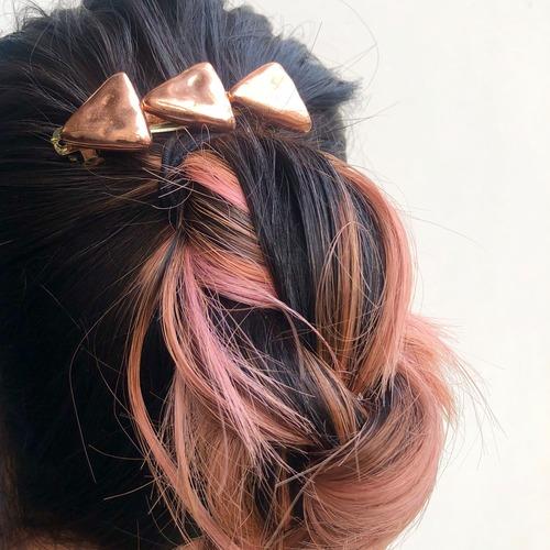 Triangles hair clip O-001