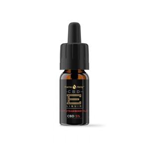 PharmaHemp E-LIQUID 5% プレミアムブラック クリーミーストロベリー