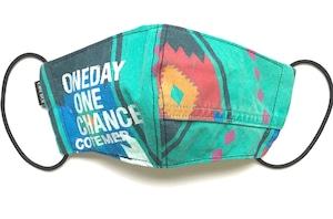 【デザイナーズマスク 吸水速乾COOLMAX使用 日本製】ONE DAY WESTERN MASK CTMR 0924052