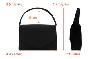 Atelier Kyoto Nishijin/西陣織シルク・貼りフォーマルバッグ・小花吹雪・日本製