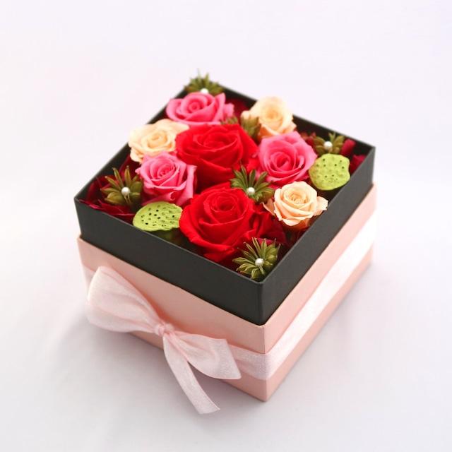フラワーボックス(ピンク)|全2色