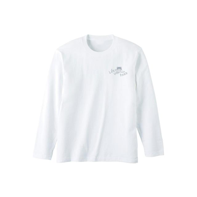 砂浜ムーブメント-ロングTシャツ