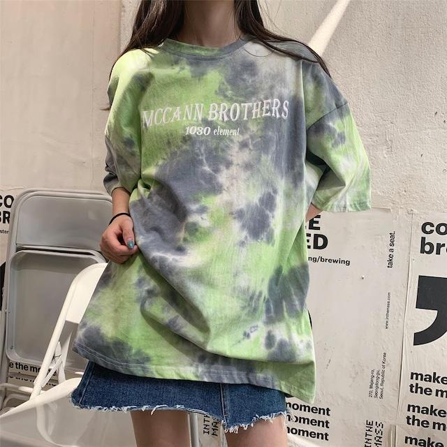 【トップス】カジュアルストリートアルファベットTシャツ43010144