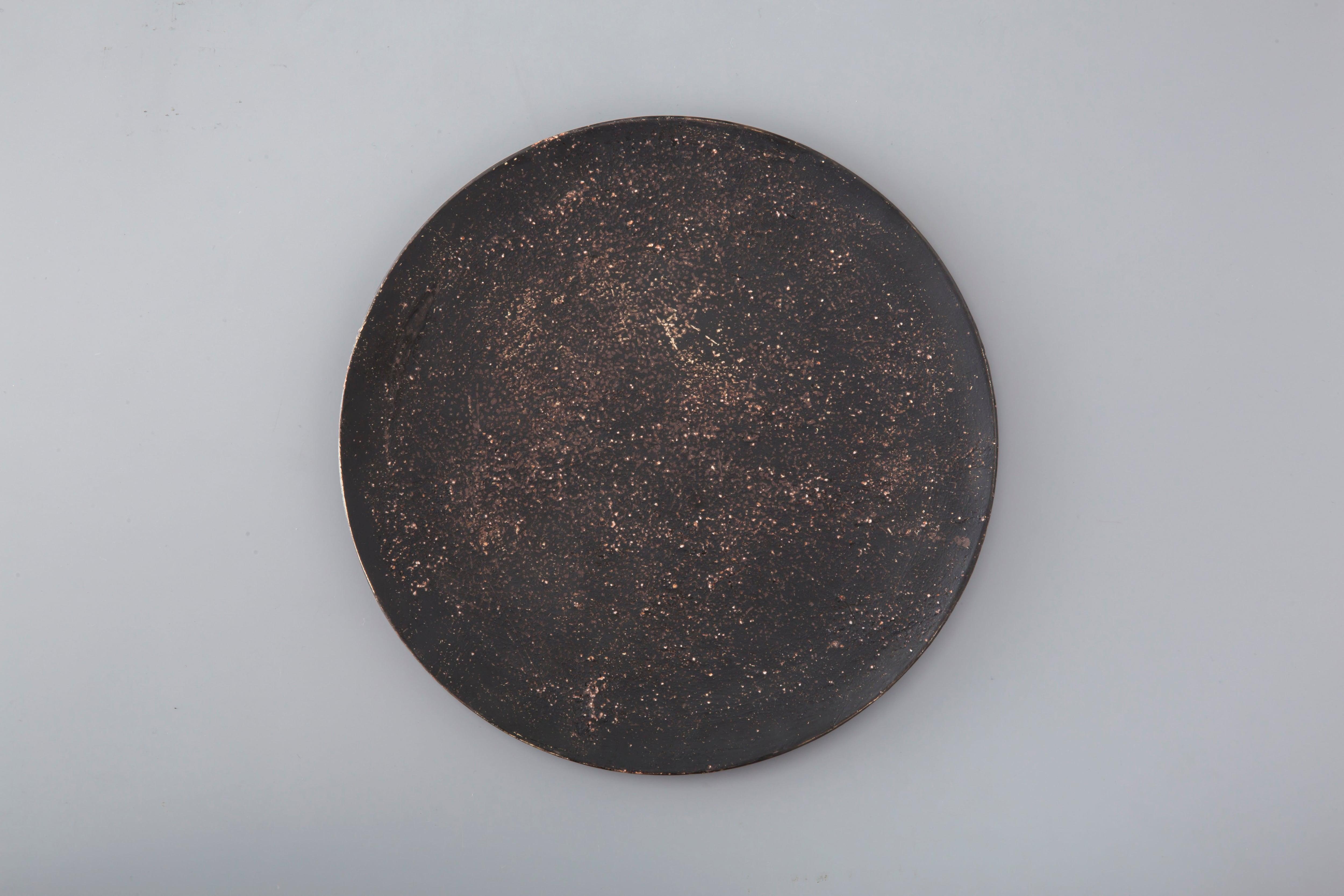 Flat plate:L (黒) / 大澤 哲哉