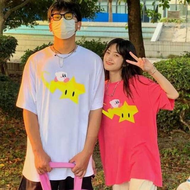 【トップス】キュート半袖通学カジュアルかわいいファッションシャツ49476934