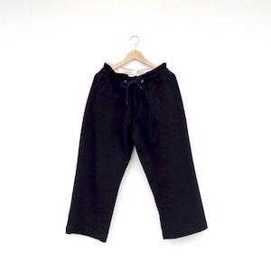 HATSKI Stitch Wide Easy Trousers