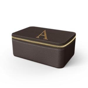 Box Premium Shrink Leather Case (Cigar Brown)