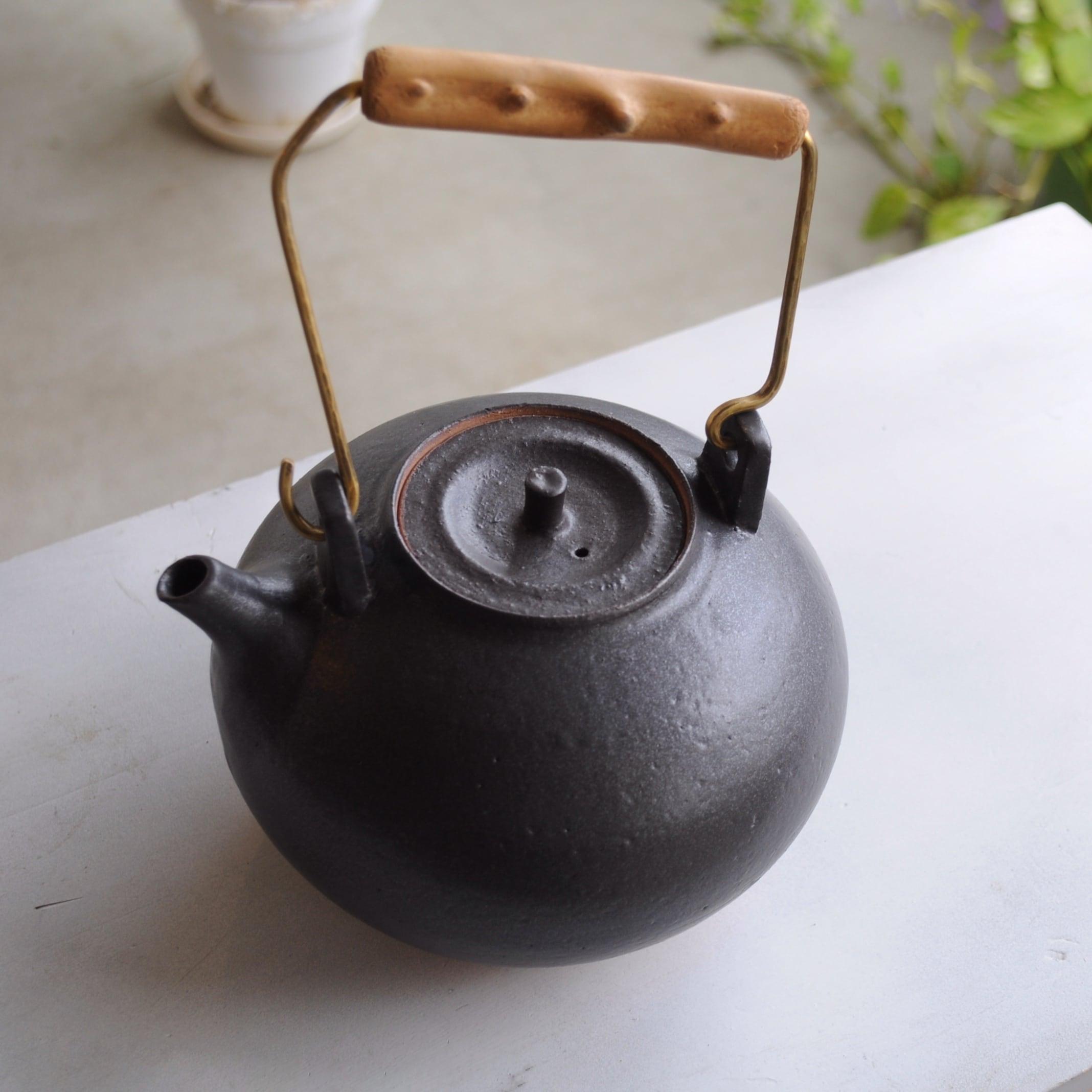 橋爪香代さん   土瓶(直火用)