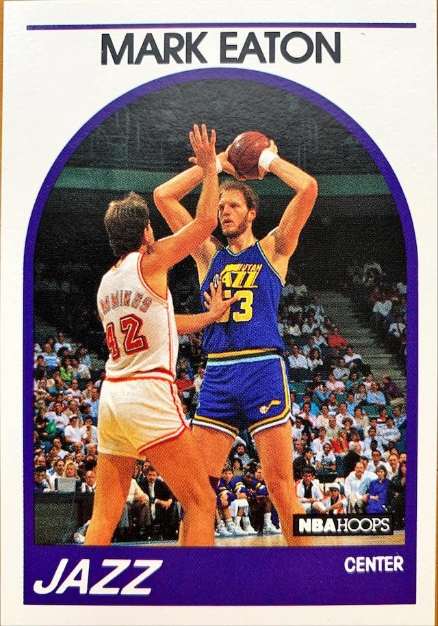 NBAカード 89-90NBAHOOPS Mark Eaton #155 JAZZ