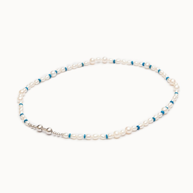 Pearl and Turquoise Necklace ネックレス - art.1803N191040T