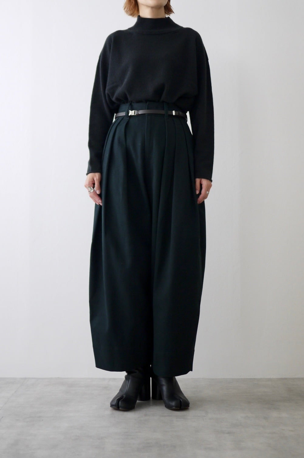TENNE HANDCRAFTED MODERN   3 tuck wide pants