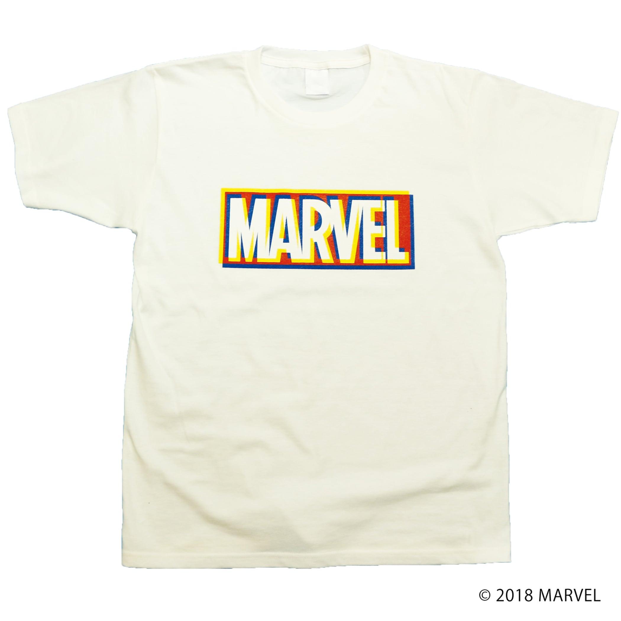 【マーベル】MARVELロゴ|3D Tシャツ