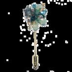 Stardust pin-brooch (スターダストピンブローチ)EMU-021-01 グリーン
