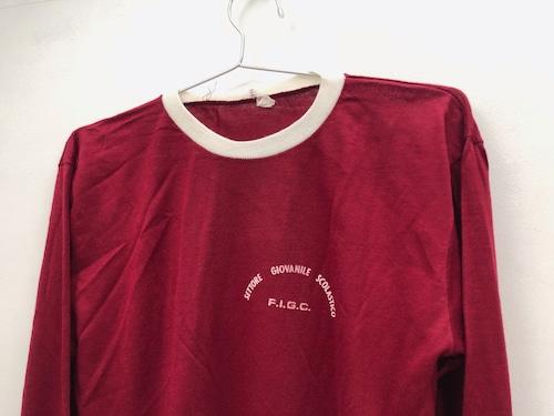 70s-80s Football Long-sleeves T-shirts【EURO Vintage】