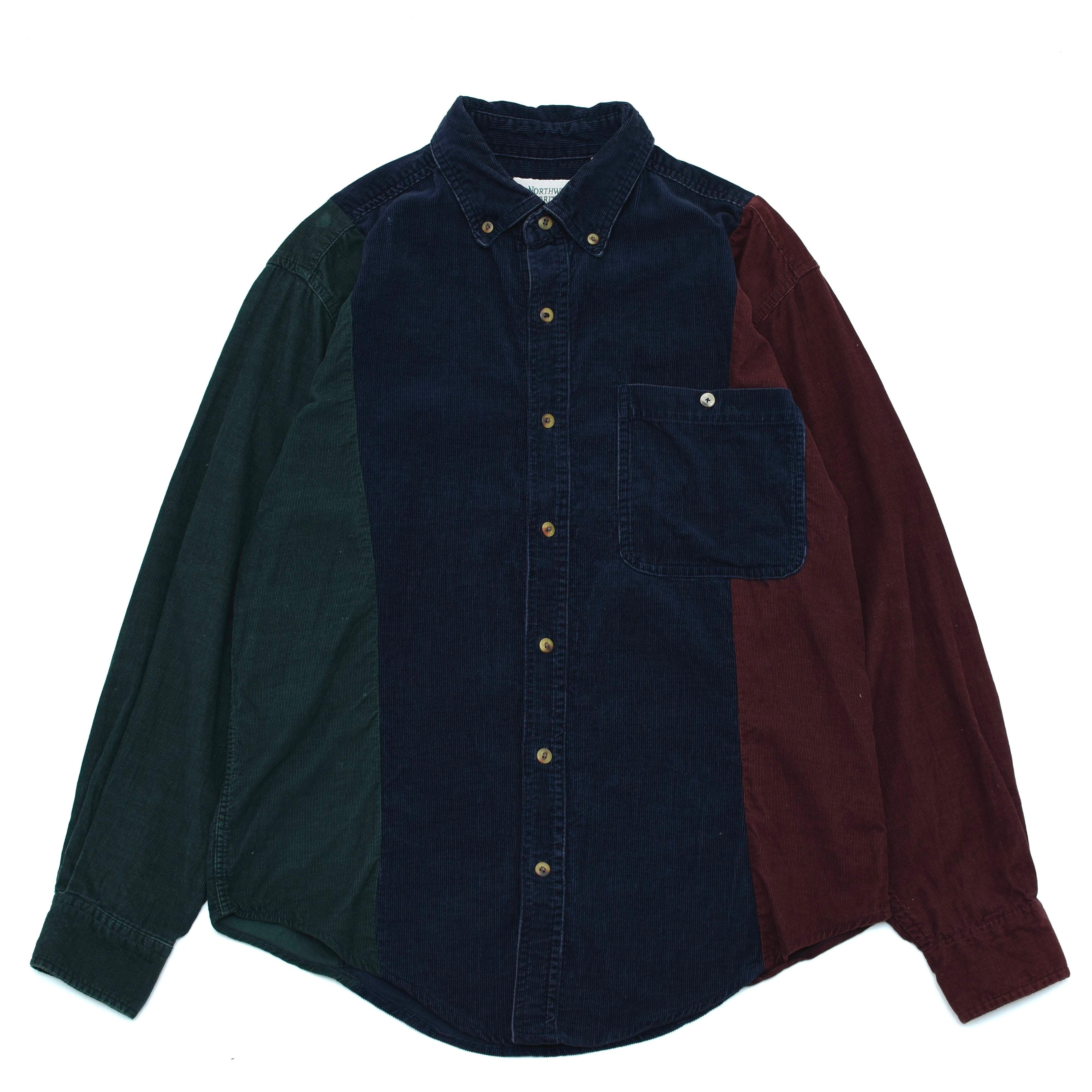 Northwest territoiy crazy corduroy shirt