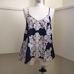 【ethical hippi】Hawaiian quilt camisole(A) / 【エシカル ヒッピ】ハワイアン キルト キャミソール(A)
