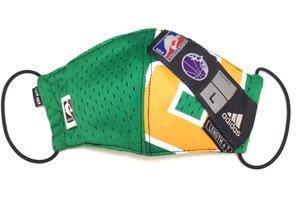 【デザイナーズマスク 吸水速乾COOLMAX使用 日本製】NBA adidas SPORTS MASK CTMR 0227010