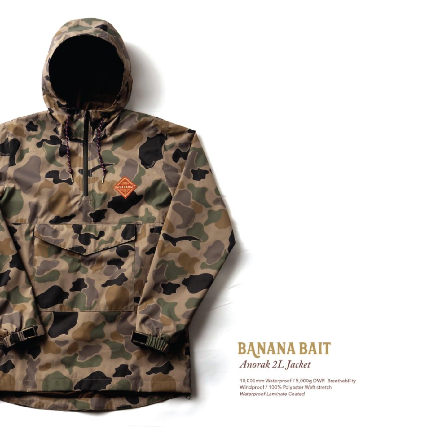 【Banana Bait】Chaac Anorak 2L Jacket / Camo
