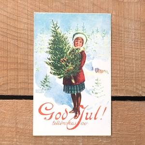 クリスマスカード「Gustaf Hallen(グスタフ・ハレン)」《200321-05》