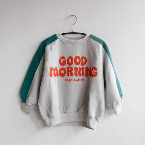 《BOBO CHOSES 2021AW》Good Morning sweatshirt / 2-11Y
