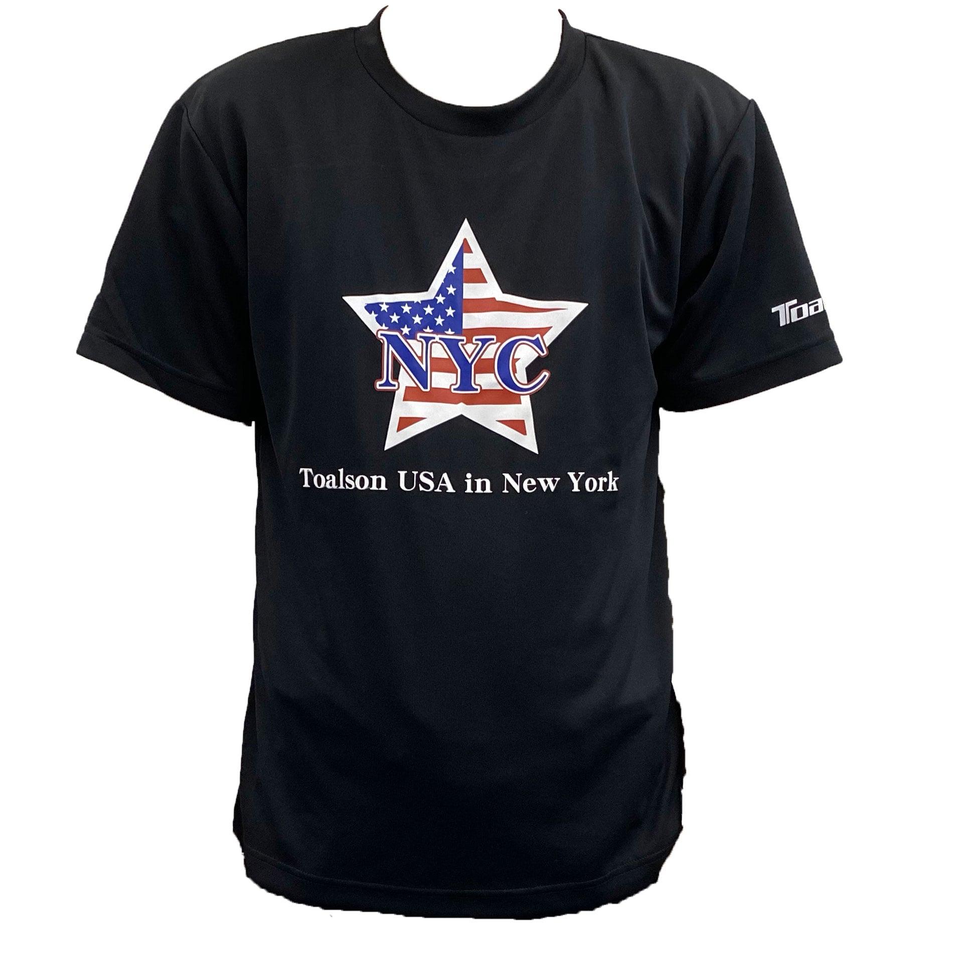 NYCTシャツ(ブラック)【1ET1912】