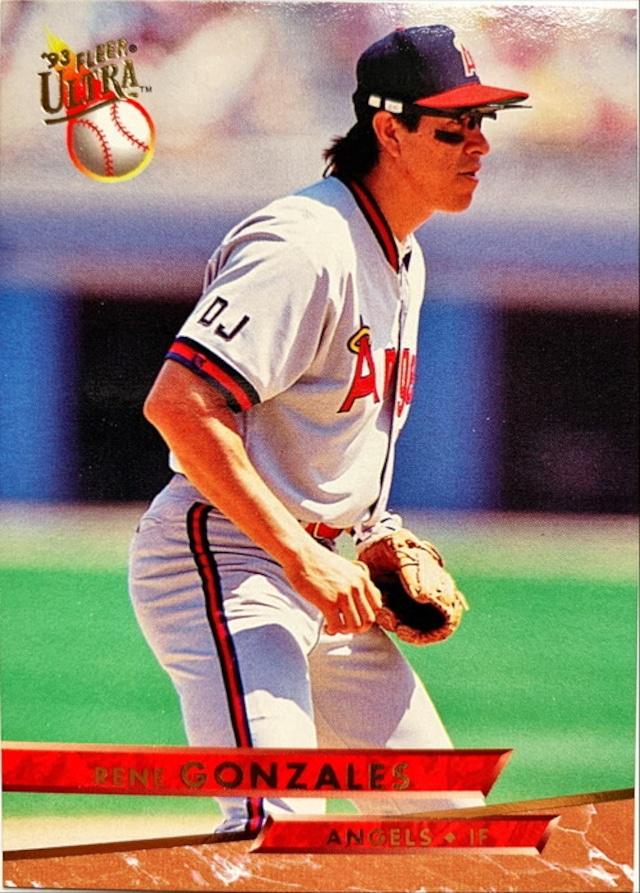 MLBカード 93FLEER Todd Zeile #115 CARDINALS