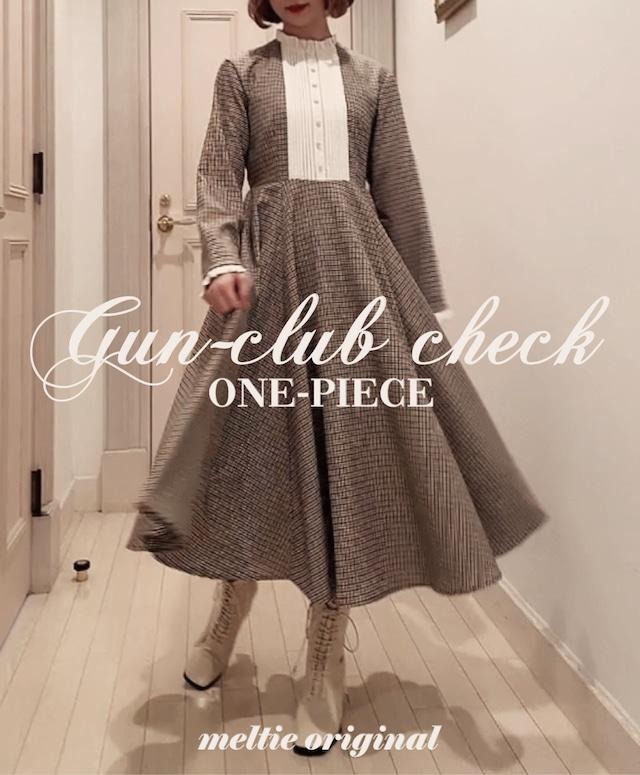 original gun-club check one-piece