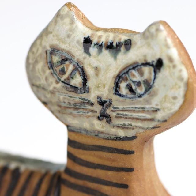 Gustavsberg グスタフスベリ Lisa Larson リサ ラーソン Staende katt 立ち猫 -3 北欧ヴィンテージ