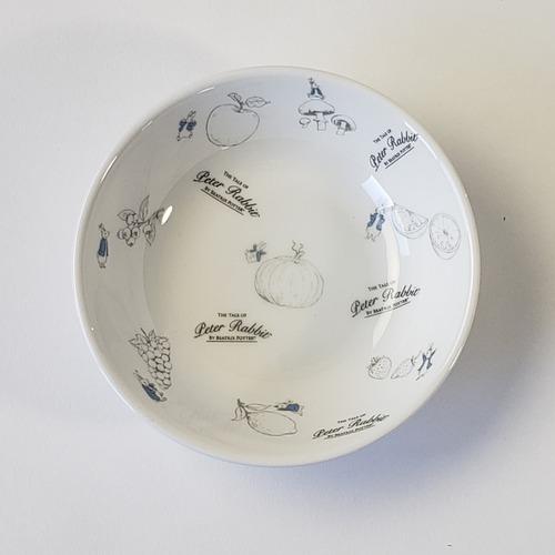 ピーターラビット Fruit&Veg 12.5cm 深小皿 強化磁器【1159-7140】
