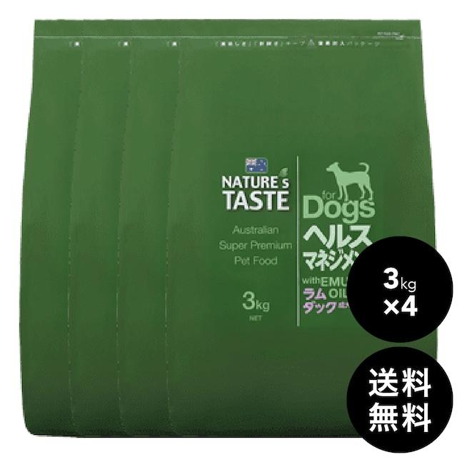 NATURE'S TASTE(ネイチャーズテイスト )ヘルスマネジメント 12kg(3kg×4)送料無料(北海道・九州・沖縄以外)