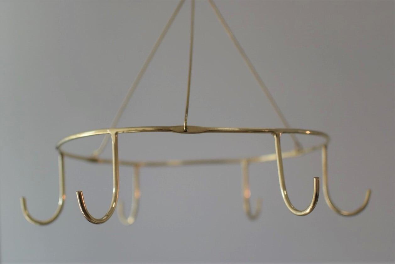真鍮製のラウンドフック  (現行品です)