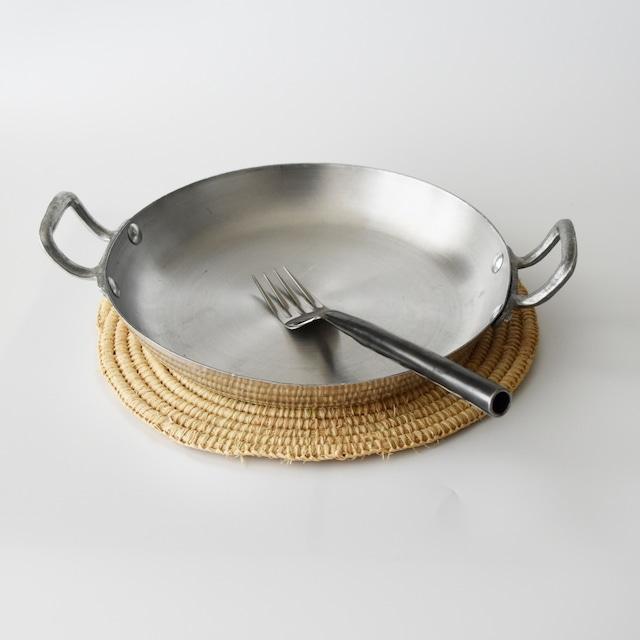モロッコ アルミ パン 手付きM 22cm