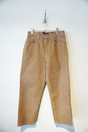 LIVING CONCEPT× IFNi ROASTING&co. COFFEE DYED 5POCKET PANTS[COYOTE]