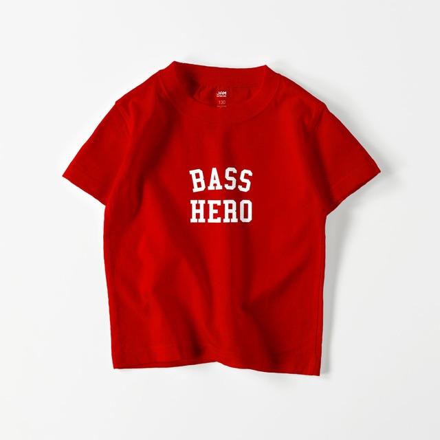 BASS HERO KIDS T (RED)