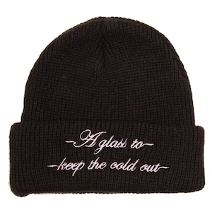 Pass-Port / COLD OUT BEANIE / BLACK