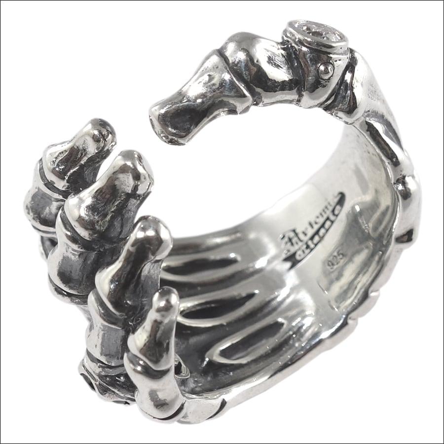 スカルハンドリング ACR0254 Skull hand ring