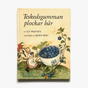 ビョーン・ベリィ:絵「Teskedsgumman plockar bär(スプーンおばさんのブルーベリー摘み)」《1989-02》