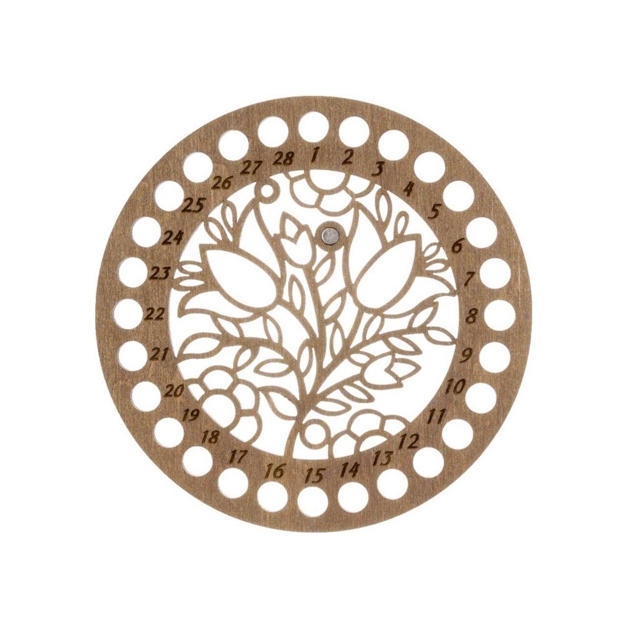 刺繍糸オーガナイザー【透かし円形】