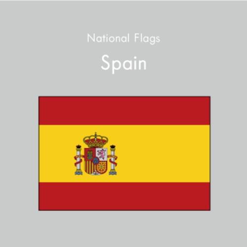 国旗ステッカー スペイン