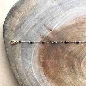 Spinel*Bracelet/K14 gf