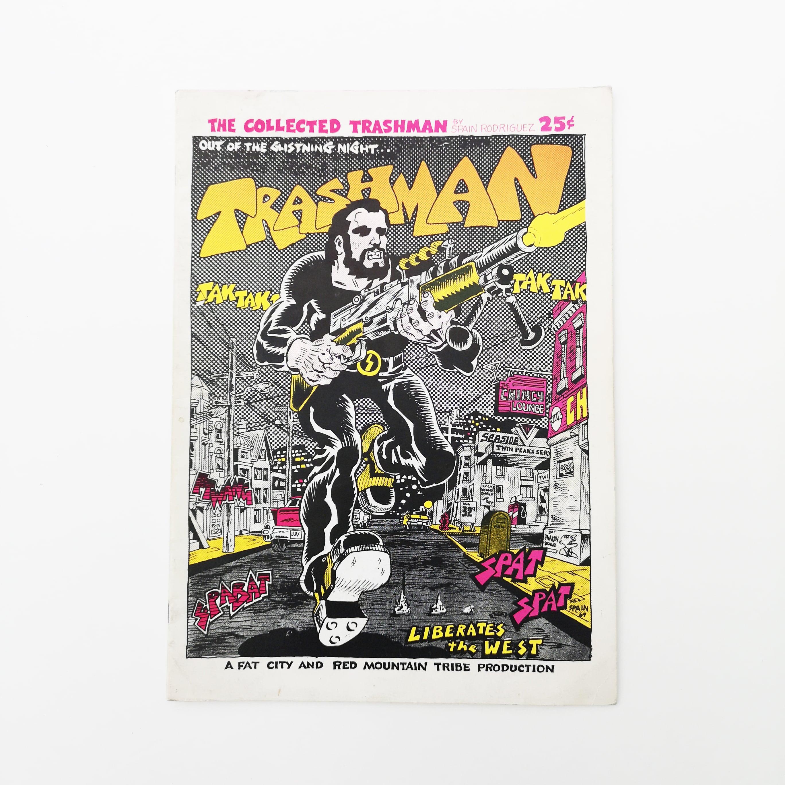 TRASHMAN (VINTAGE COMIC) by SPAIN RODRIGUES