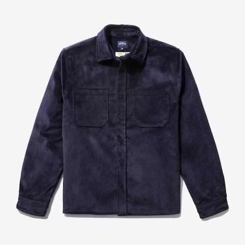 Heavy Duty Corduroy Shirt Jacket(Dark Navy)