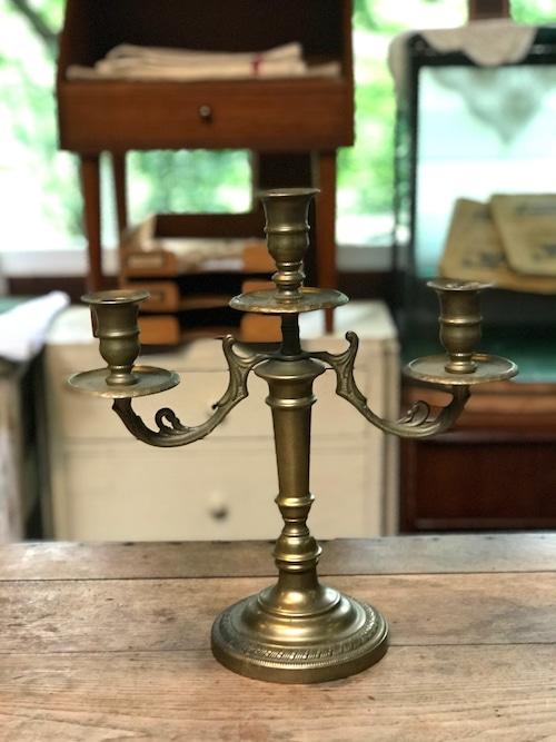 イタリア ヴィンテージ 燭台 キャンドルスタンド