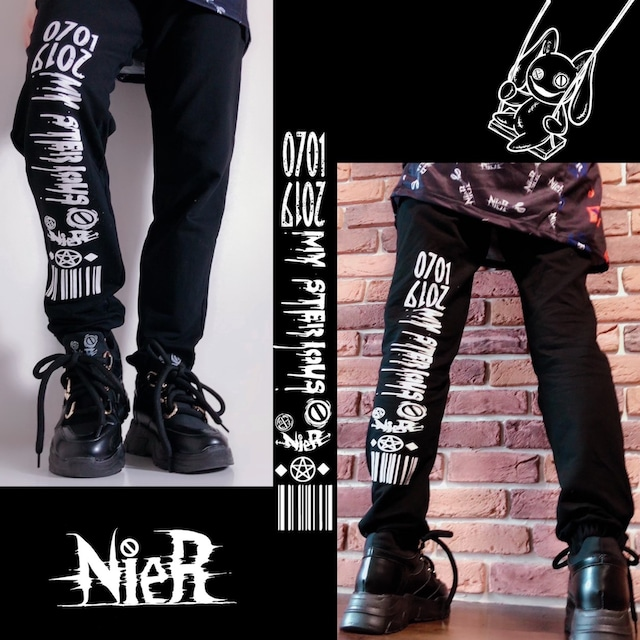 NieR SWEAT PANTS 【Double Code】