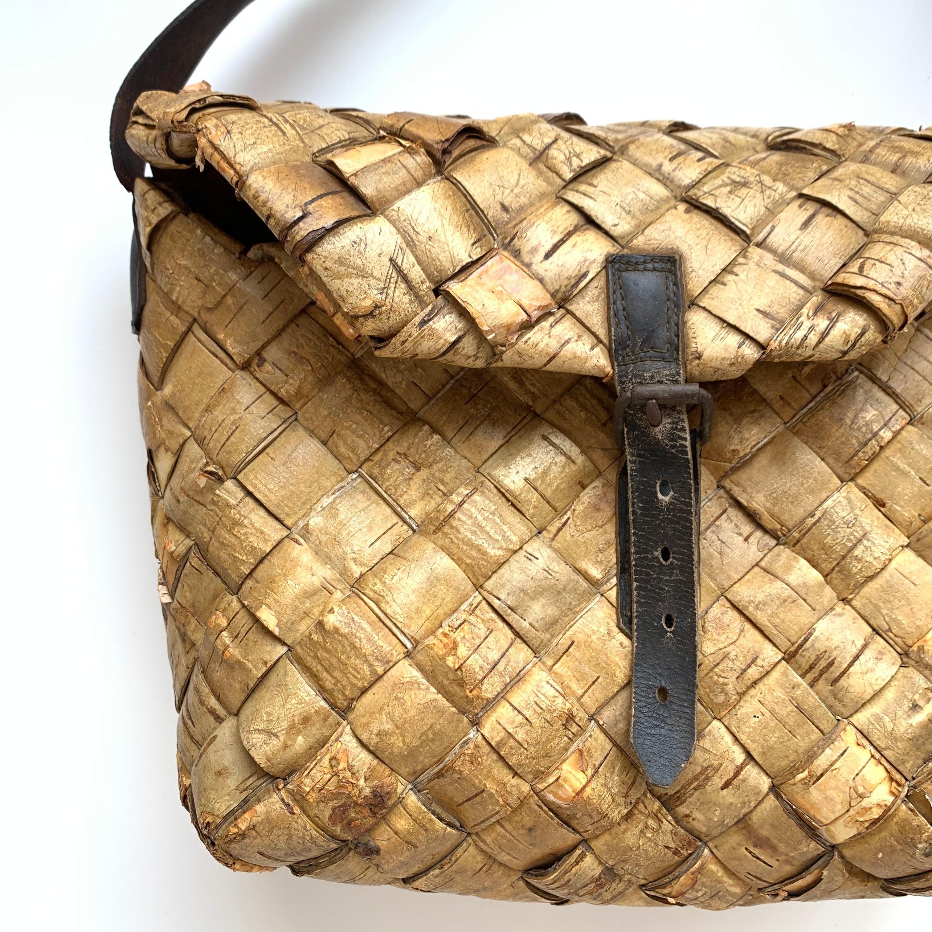 Birch Bark Bag