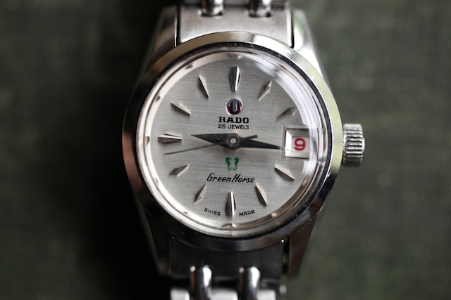 【RADO】グリーンホース レディース  自動巻き OH / vintagewatch / automatic / Greenhorse / Ladieswatch