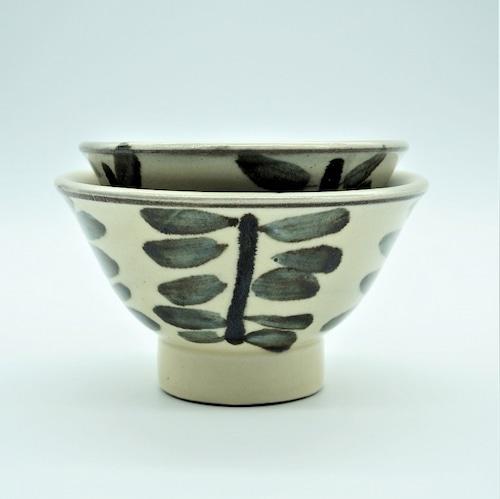 4寸マカイ 木の葉(このは)【壺屋焼窯元 幸陶器】